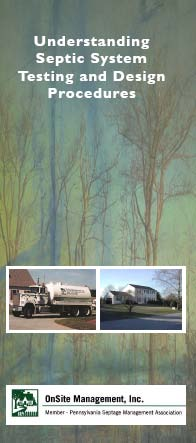 Septic System Testing and Design Brochure